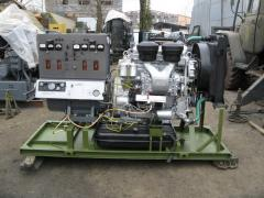 Mobile power plant of AD-30