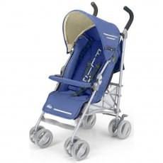 Коляска прогулочная детская CAM FLIP, цвет синий
