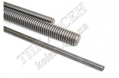 Hairpin carving M6x1000 galvanized DIN 975
