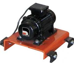 The electric drive for vibrorail of Palme Makina