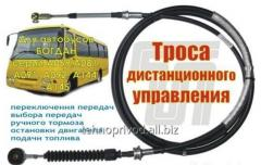 Cable of remote control of buses Bogdan - ISUZU