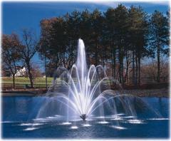 Плавающий фонтан Buckingham фирмы Aqua Control