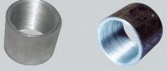 Муфты стальные соединительные резьбовые