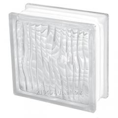 "Glass block 1908H ""Optikal"" colourless"