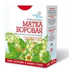 Organic Herbs phytotea UTERUS of PINE-FOREST 30 g