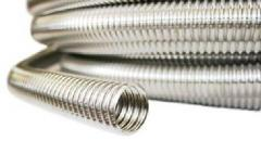 Гофротруба нержавеющая сталь для теплообменников в