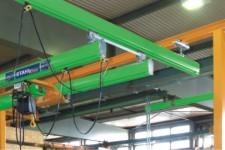 Двубалочный подвесной кран LCS (легкая крановая