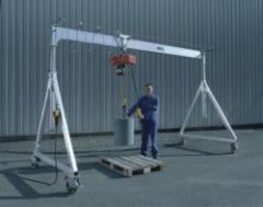 The aluminum portal special crane with supply of