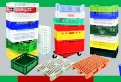 Boxes for foodstuff from plastic