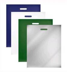 Пакеты полиэтиленовые с прорубной ручкой (пакеты