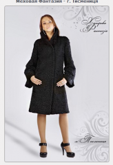 Fur coats from astrakhan fur
