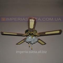 Люстра-вентилятор потолочный SVET четырехламповый