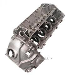 Блок цилиндров двигателя ГАЗ 53 с картером.