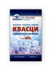 Alum aluminum potassium, powder of 15 g