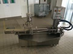 Automatic machine for release of frozen type