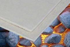 Cardboard fire-resistant IZOFLOX-120