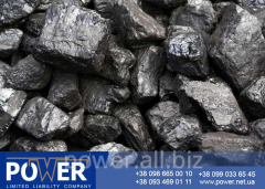 Coal AKO anthracite of 25-100 mm (dry rassev)