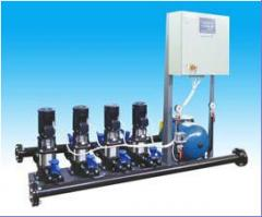 Automatic pump station