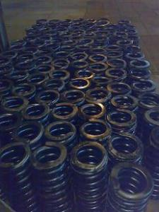 Springs for locomotives