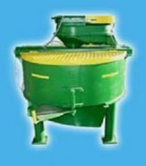 Concrete mixers in assortmen