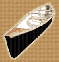 Каноэ для активного отдыха и рыбалки (лодка каное)