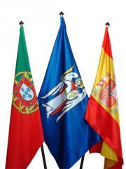 Флаги Стран мира в комплекте с напольными