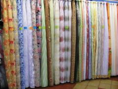 Tulle and curtains wholesale and retail from the