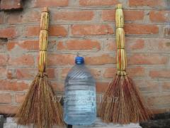 Broom of a sorghum (industrial)
