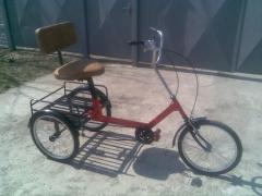 "Tricycle for rehabilitation, ""The small"