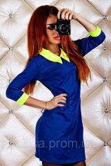 "Платье синее ""Энели""."
