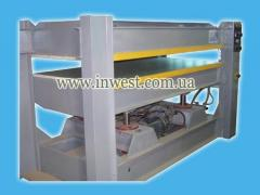 Hydraulic press of STGP-08 for hot pasting of
