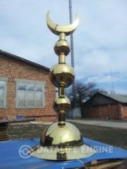 Верхушки (балтавар) для мусульманских мечетей