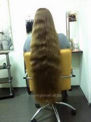 Сырье натуральные славянские волосы не
