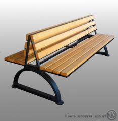 Scaune din lemn natural