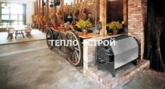 Отопительная - Варочная Печь на дровах
