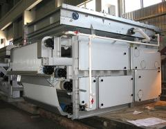 Tape filter presses of the PL series for
