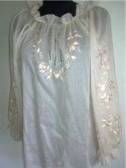 Zh_nocha shirt, chemise of A-35, 100% flax.