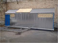 Transportable modular boiler installation 2,5