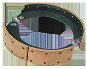 GAZ-66 brake shoe