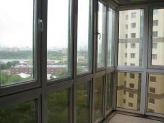 Рамы балконные. Остекление балконов и лоджий.