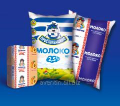 Packaging for dairy products: Yogurt, kefir, milk,