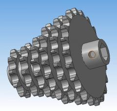 Spare parts to seeders (hammers, asterisks,