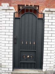 Gates shod in Odessa