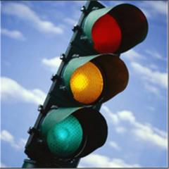 Traffic lights on light-emitting diodes from the