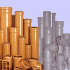 Polyvinyl chloride pipes for outdoor sewages