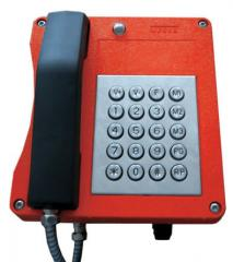 Explosion-proof industrial telephone set of the