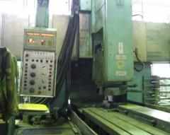 It is longitudinal - the MS510-F1 grinder