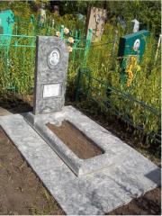 Пам'ятник бетонний одинарний