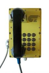 Industrial all-weather BTA-303 telephone se