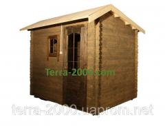Деревянный сарай, недорого заказать в киеве